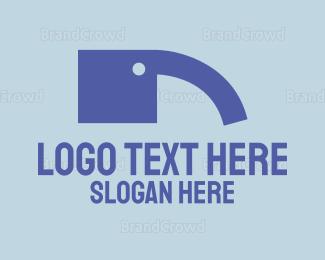 Elephant - Elephant Quote logo design