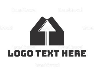 Mouse - House Click logo design
