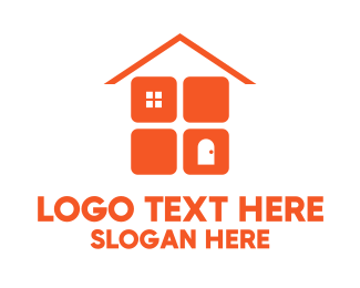 Home Improvement - Orange Home Improvement logo design