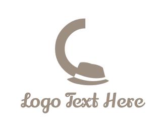 Outfit - Black Hat logo design