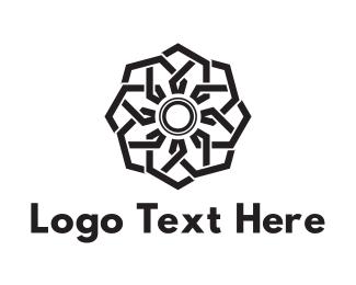 Florist - Shutter Flower logo design