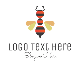 Hive - Ant Bee logo design