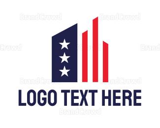 Conservative - American Statistics logo design