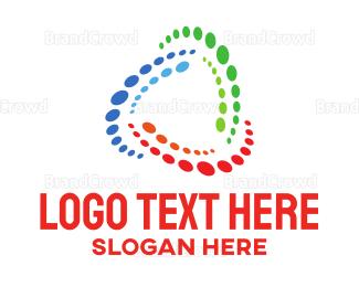 Rotate - Colorful Orbit logo design