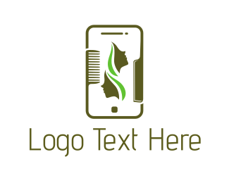 Application - Beauty Application logo design