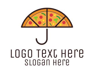 """Umbrella & Pizza"" by shad"
