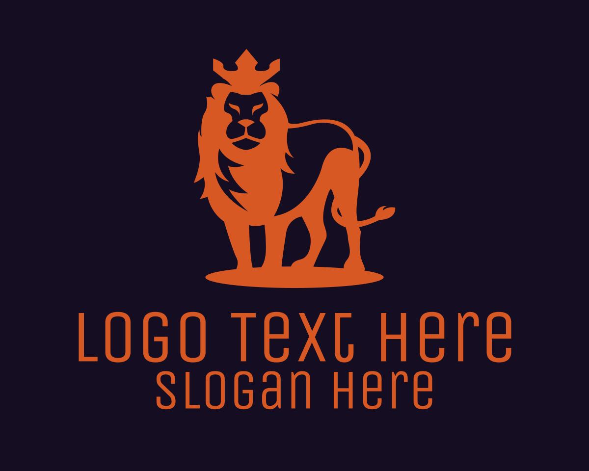 Lion King Logo Brandcrowd Logo Maker