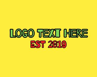 South Africa - Jamaican Font logo design