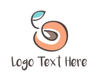 Farmers Market - Peach Seed logo design