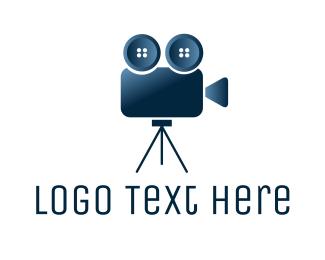 Button - Button Camera logo design