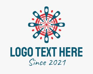 Food - Pizza Beer Bottle logo design