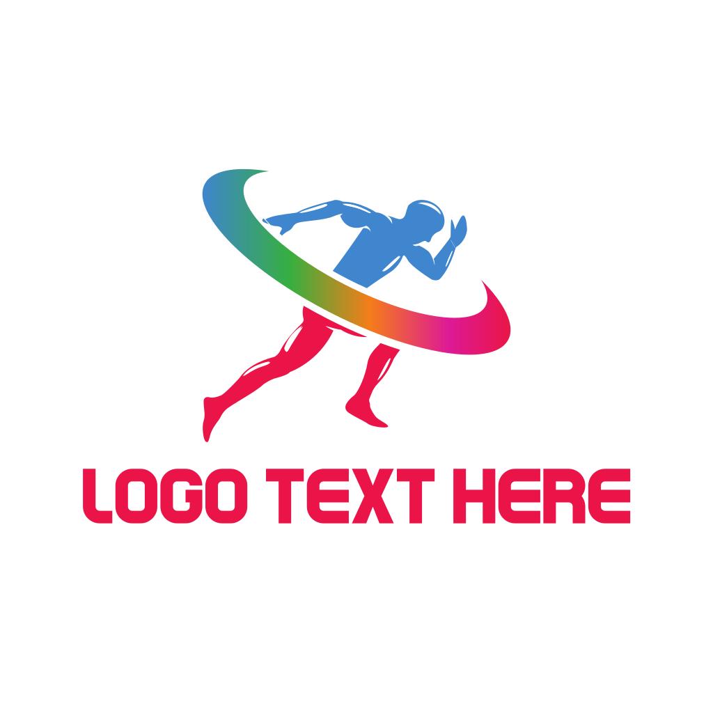 Running Sprint Logo | BrandCrowd Logo Maker
