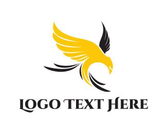 Whiskey - Yellow Eagle logo design