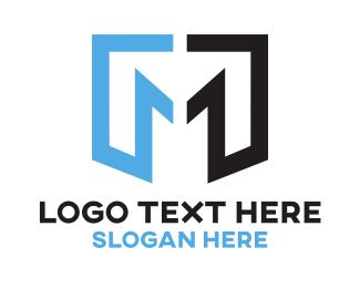 Draftsman - Minimalist Letter M logo design