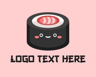 Sushi - Sushi Roll Snack logo design