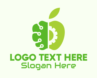 Bio Technology - Apple Bio Technology logo design