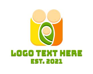 Child - Mother Father Child logo design