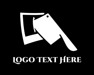Butcher - Crop Photo logo design