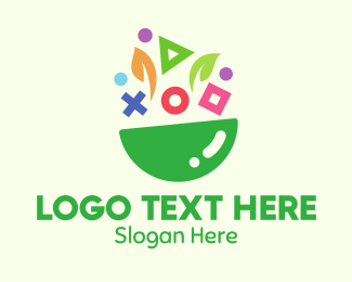 Symbol - Symbol Shapes Bowl logo design