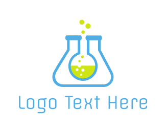 Scientist - Lab Tubes logo design