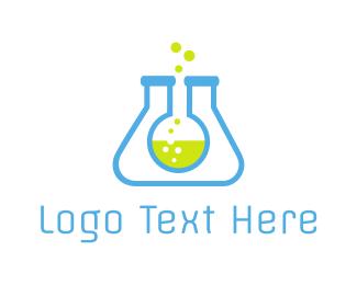"""Lab Tubes"" by LogoBrainstorm"