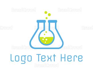 Research - Lab Tubes logo design
