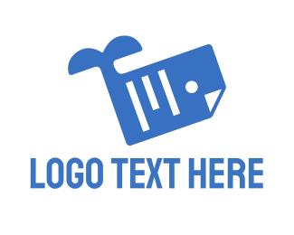 File - Whale Document Files logo design
