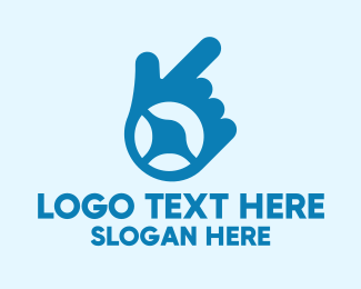 Driving School - Blue Driving Lesson logo design