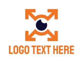 Vision - Upsize Vision logo design