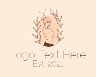 Underwear - Woman Skin Care  logo design