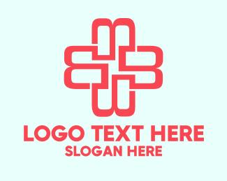 Link - Medical Red Cross logo design