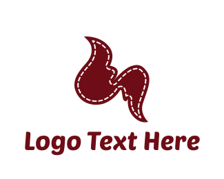 Seamstress - Fashion Wings logo design