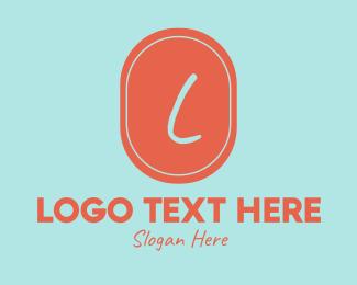 Toddlers - Orange Shop Lettermark logo design