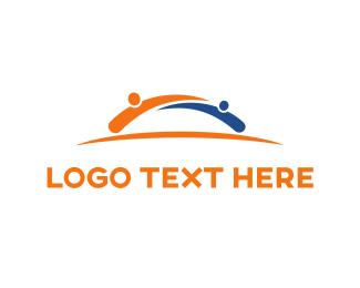 Foundations - Orange Community logo design