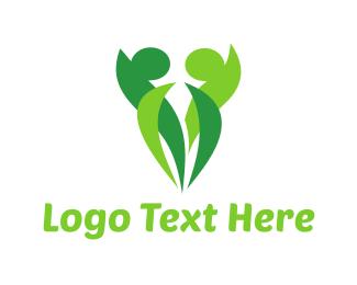 Body - Human Leaves logo design