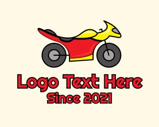 Racing - Sports Bike Racing logo design
