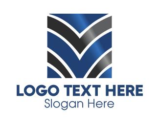 Rank - Abstract Gradient Business logo design