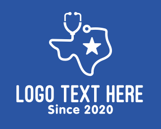 Texan - Texas Medical Hospital logo design