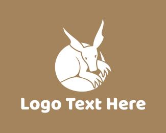 Australian - Kangaroo Circle logo design