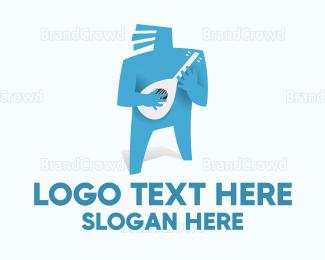 Musician - Blue Musician logo design