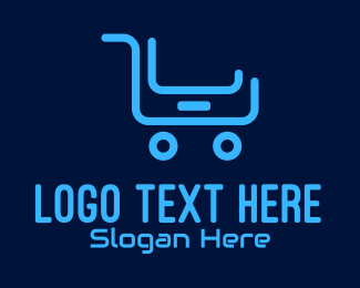 Mobile Tablet - Mobile Device Shopping Cart logo design
