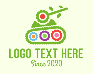 Cannon - Bush Tank logo design