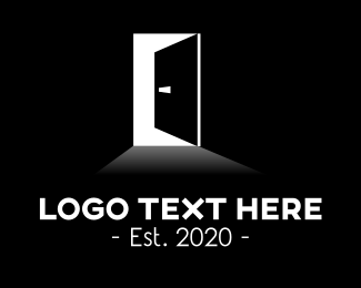 Doorway - Black Door logo design