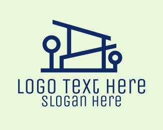 Design - Minimalist House Design logo design