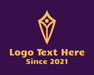 Finance Diamond Shield Logo