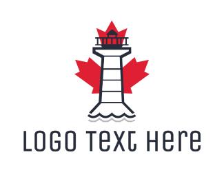 Lighthouse - Canadian Lighthouse logo design