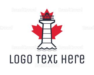 Canadian - Canadian Lighthouse logo design