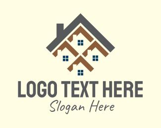 Chimney - Diamond House Home logo design