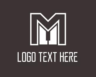 Class - Master M Piano logo design