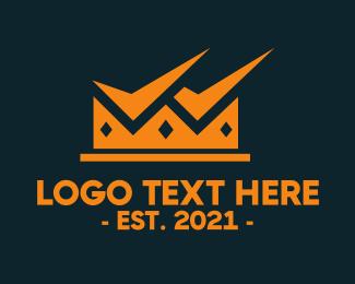 Leadership - Check King Crown logo design
